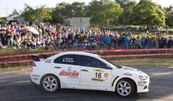 Javier Ramos se atreve con el Fabia R5 para el Rallye do Cocido