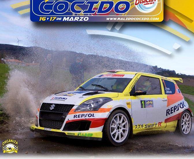 cartel oficial XXIV Rallye do Cocido