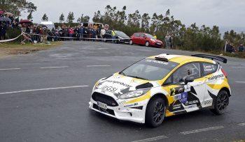 Iago Caamaño parten entre los favoritos para la victoria final con el Ford Fiesta R5