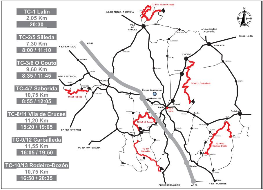CERA: 25º Rali do Cocido - Staroil [15-16 Octubre] Mapa-general-2021